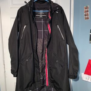 Helly Hansen Black rain coat